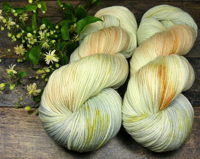 PEPPERMINT - pflanzengefärbte superweiche Sockenwolle, natürlich handgefärbtes 4fach Sockengarn, supersoft, Fine Merino Socks Sowo