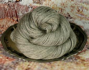 FUMY NATURE - 120gr Yak Seide Merino Singles natur (100gr/EUR 22,00), natürliches Edelgarn, Luxusgarn, weiche Wolle
