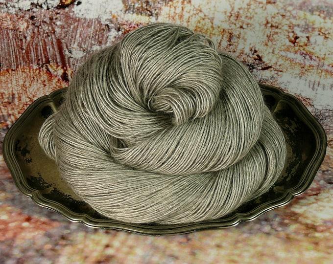 FUMY NATURE Naturwolle von folly.me - 120gr Yak Seide Merino Singles natur (100gr/EUR 21,00), natürliches Edelgarn, Luxusgarn, weiche Wolle