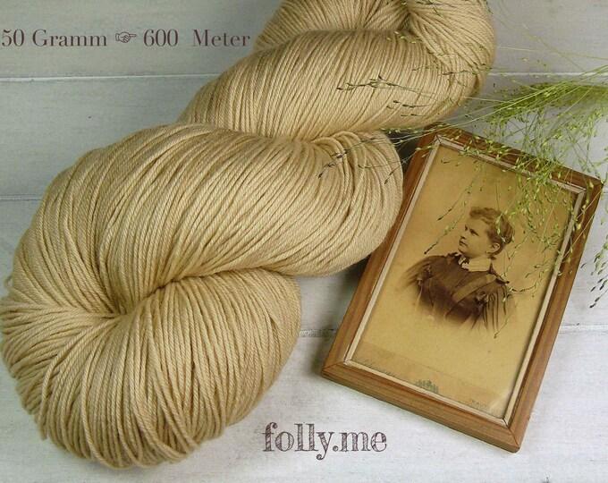 PEARL - 150gr Merino fingering (16 EUR/100gr), pflenzengefärbtes Allroundgarn, handgefärbte reine Wolle, plastikfrei!