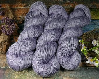 PAKO LIEBESBRIEF, 115gr Merino Alpaka Seiden Singlesgarn (100gr/Eur 23,04), natürlich handgefärbtes Edelgarn, pflanzengefärbt