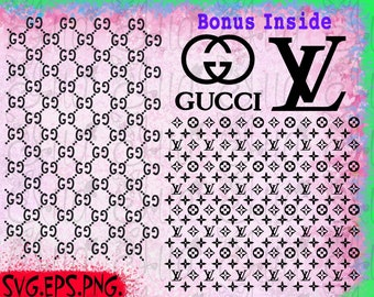 Louis Vuitton Svg File Peatix
