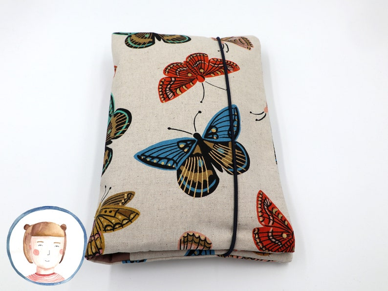 Diaper bag with name Butterfly