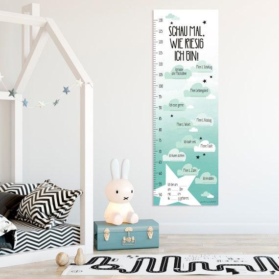 Messlatte Zum Notieren Kinderzimmer Baby Junge Etsy