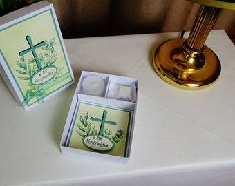 A beautiful packaging for confirmation