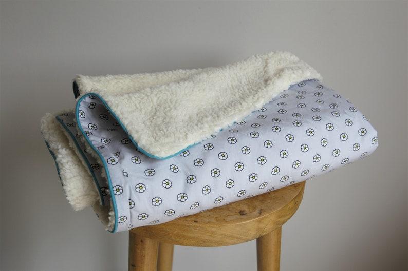 Baby blanket Crib Blanket soft blanket of 100/% cotton baby shower gift flowers