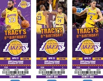 29b02543f Los Angeles Lakers Invitation