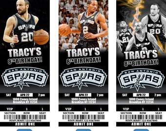 89409cddbfcd San Antonio Spurs Invitation