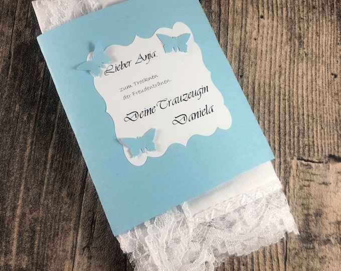 Featured listing image: The special handkerchief for baptism