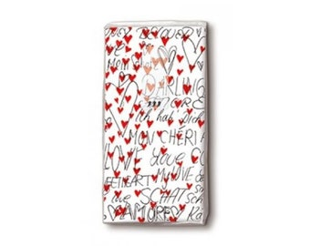 10 with Hearts Handkerchiefs joy Tears
