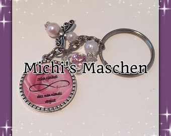 Keychain sister pink