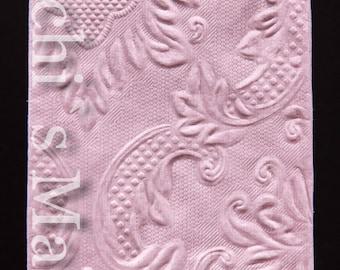 10 tears of joy embossed handkerchiefs pink