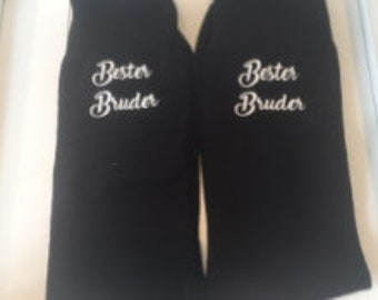 personalized socks best brother