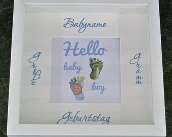 Money gift baby customizable