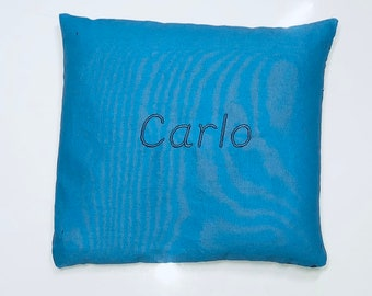 Spelt Cushions Personalised with Names