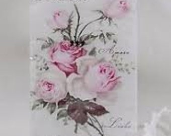 10 Tears of Joy Handkerchiefs Roses