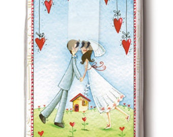 10 tears of joy printed handkerchiefs