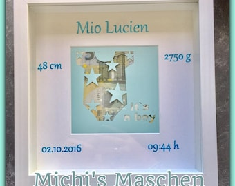 Money Gift Personalized Baby Birth Baptism