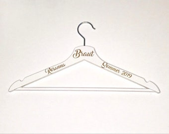 Hanger Personalized Bride Gift