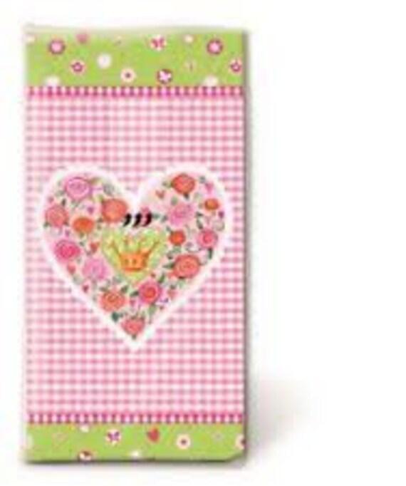 10 Freudentränen  Taschentücher rotes Herz