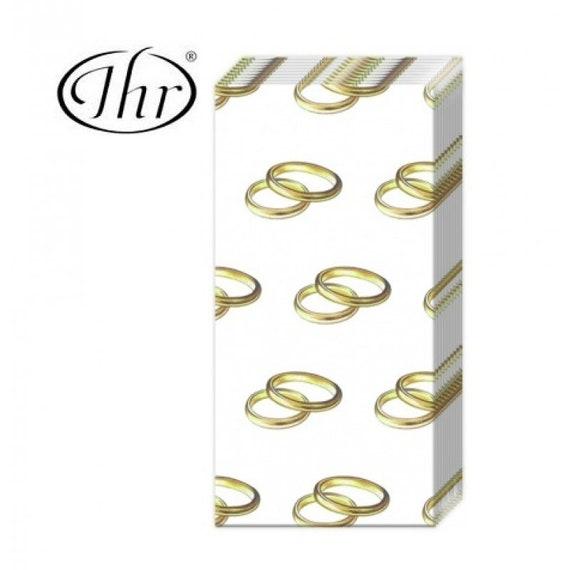 10 Freudentränen Taschentücher Ringe gold