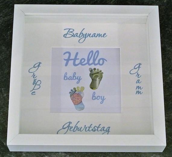 Geldgeschenk Baby individualisierbar