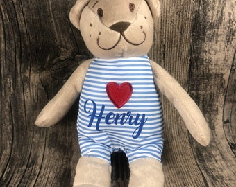 personalized bear, guest gift