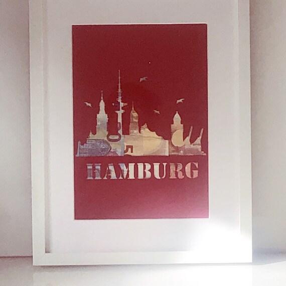Geldgeschenk Hamburg Geld personalisiert