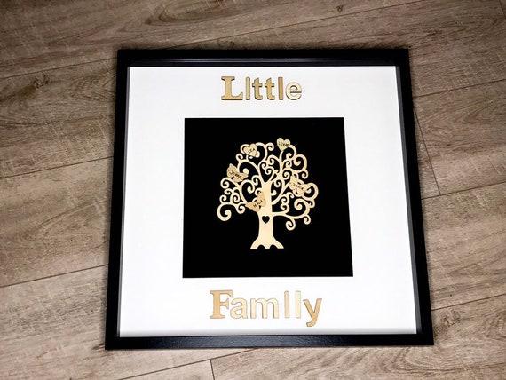 Familienbaum im Bilderrahmen