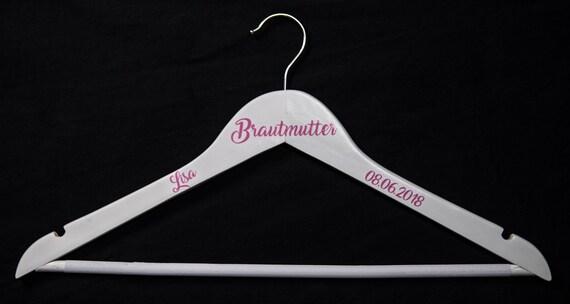 Kleiderbügel personalisiert Brautmutter Geschenk