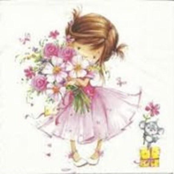 Serviette Little Princess