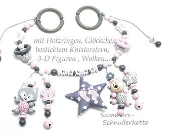 Stroller necklace