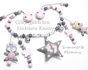 Stroller chain/personalized with names