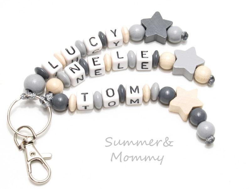 Keychain nametag pocket tree nursery nursery bag image 0