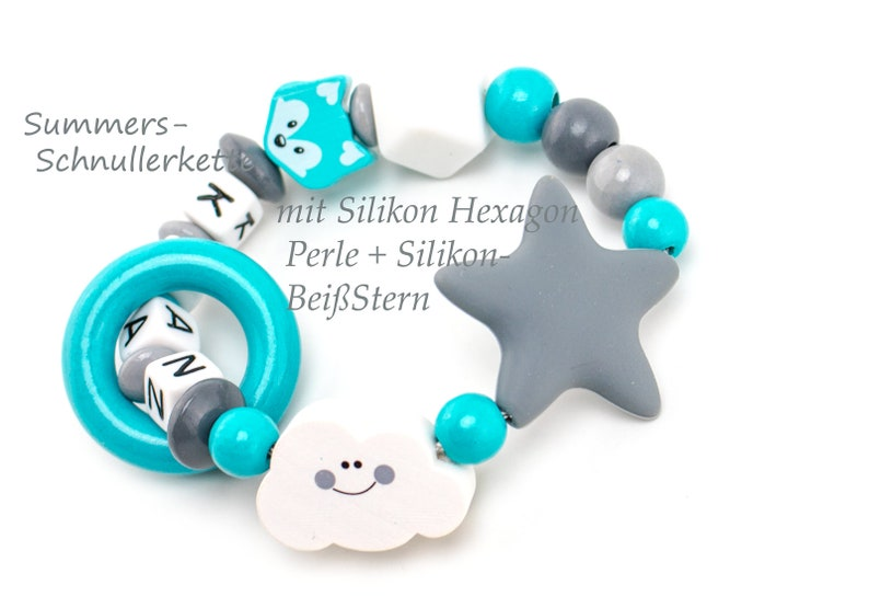 Gripper with silicone beads image 0