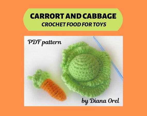 Farmers Market Veggies - Crochet Pattern • Green Fox Farms Designs | 453x570