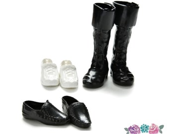 4Pairs Fashion Sneackers For Doll Mini Toy for  Doll Shoes SP