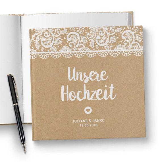 Gastebuch Hochzeit Fotobuch Hochzeitsgastebuch Etsy