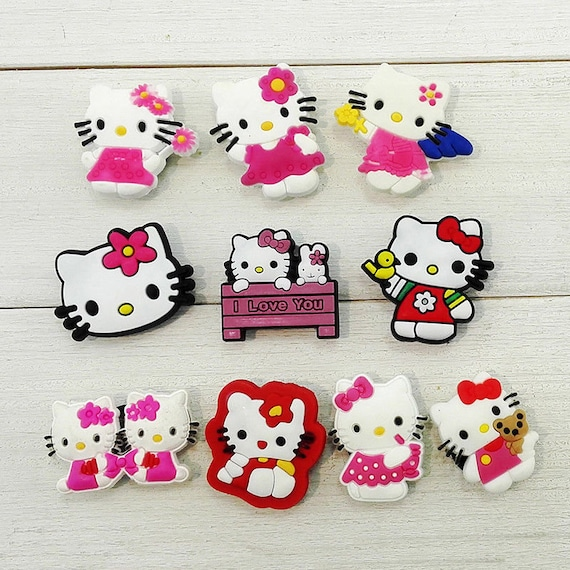 Novelty Sesame Street Cute Cartoon Accessory Shoe Charms Decoration Buckles Fit Wristbands Bracelets Kids Toys Xmas Gifts Shoe Accessories