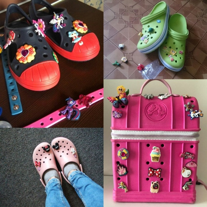 c8a1b80ce5b 24 Pcs Disney Tsum Tsum Shoe Charms PVC Fit Buckles And | Etsy