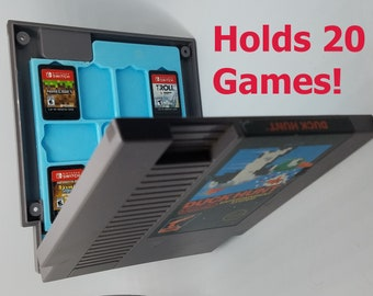 7b3a204c404f PREBUILT  Real NES Game Case for the Switch Completed Nintendo Switch Game  Case  Fast Ship