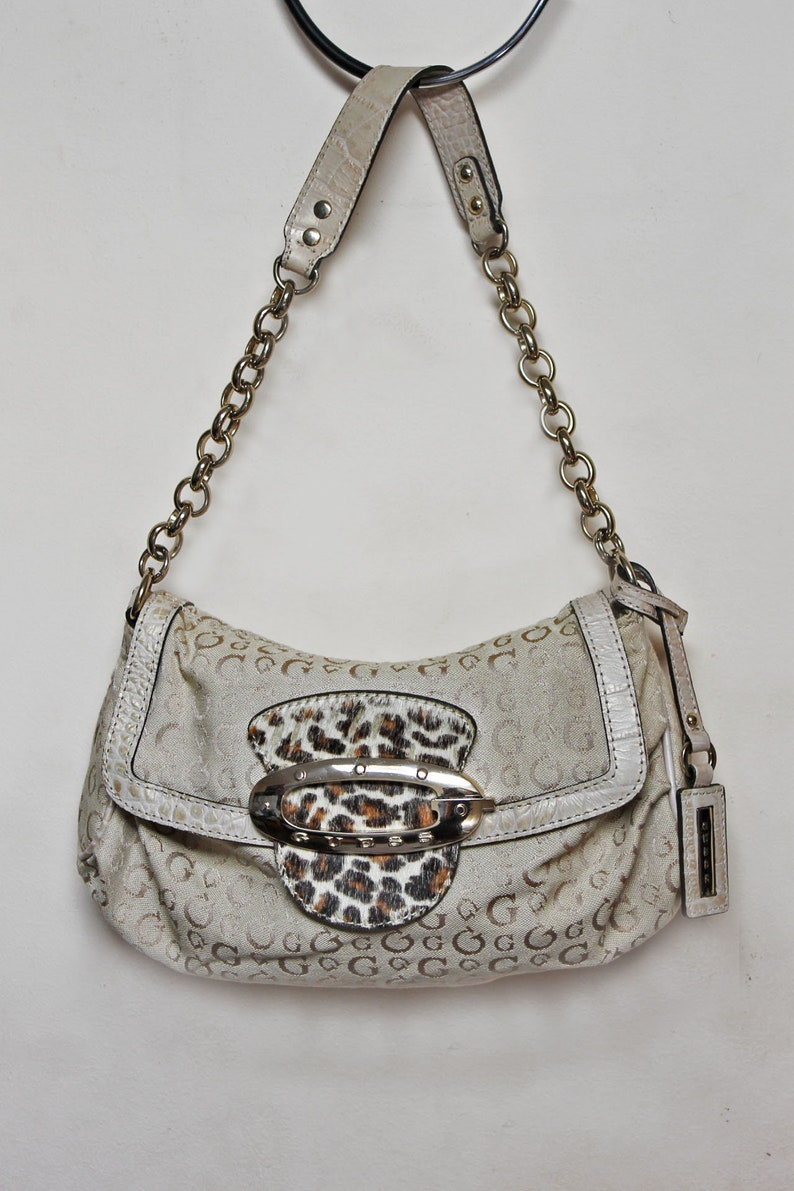 0c8889d04c Guess vintage bag Guess by georges marciano timeless Designer   Etsy
