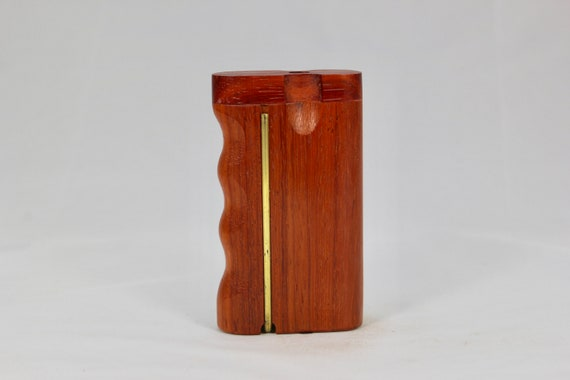Dugout Twist Top With One Hitter And Brass Poker Including Free Domestic Shipping 3 Vermillion