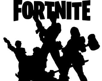 Fortnite Logo Clipart Black And White Fortnite Aimbot Ps4 Install