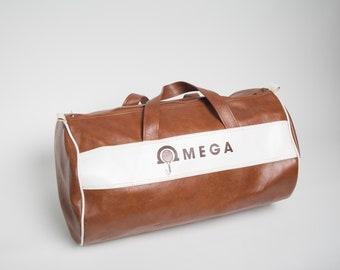 bfb9f376663a Vintage Omega Racquetball Tennis Bag
