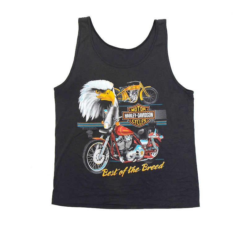Harley Davidson Best of the Breed 1988 Tank Top  image 0