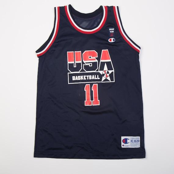 VTG USA Basketball Kevin Johnson Jersey Youth XL 18-20 | Etsy