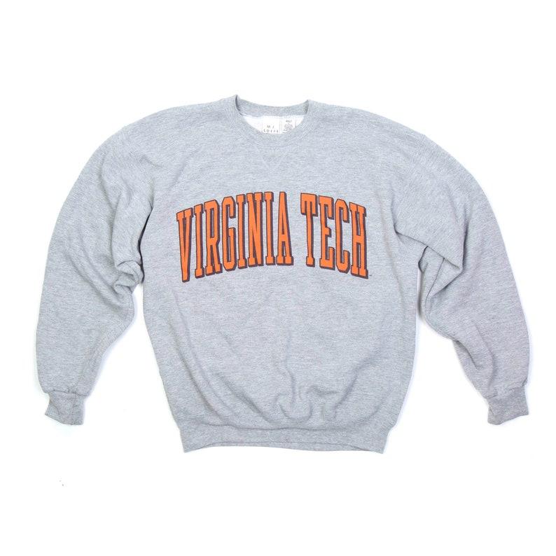 Vintage Virginia Tech Crewneck Sweatshirt  L image 0