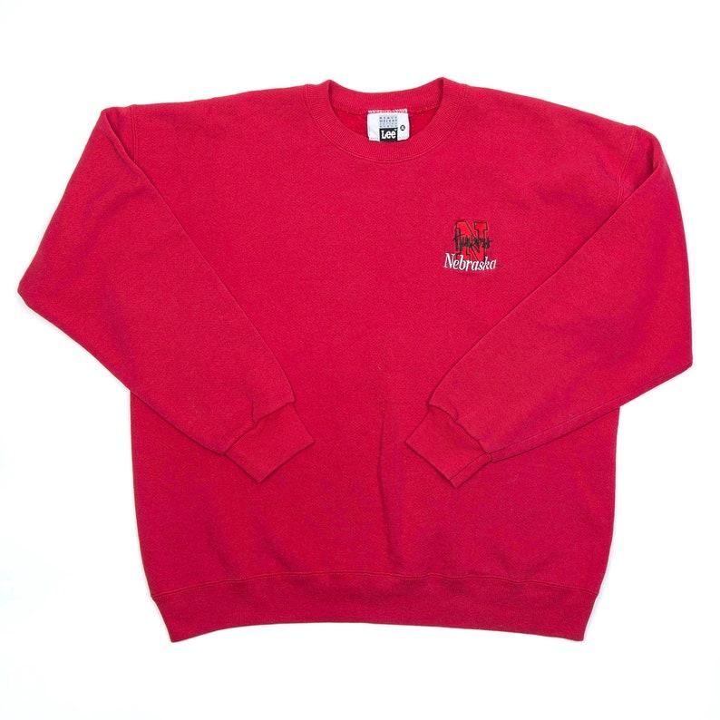 Nebraska Huskers Crewneck Sweatshirt by LEE  XL image 0