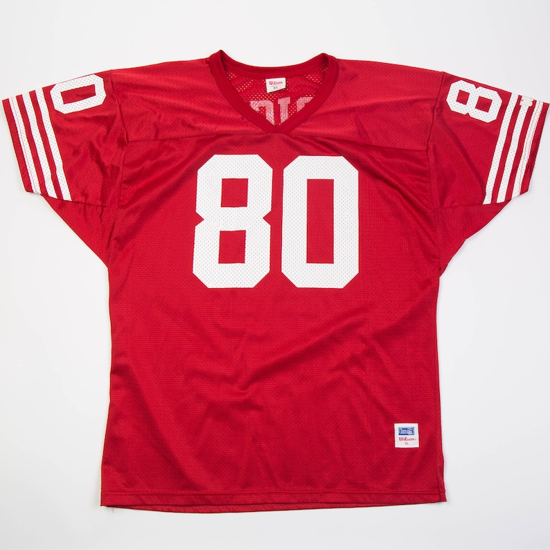 best loved 89848 5d961 Vintage Jerry Rice 49ers Jersey by Wilson | XL